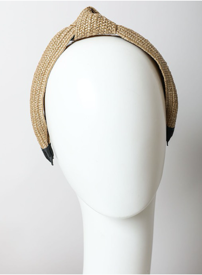 Bohemian Rattan Knotted Headband-
