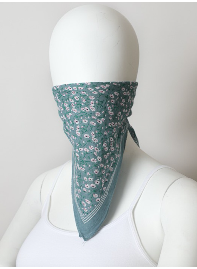 Flower Field Bandana Face Mask-Set of 3