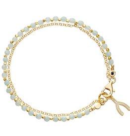 Astley Clarke Wishbone Friendship Bracelet