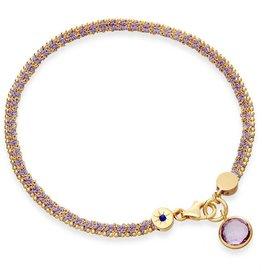 Astley Clarke Modern Love Bracelet With Amethyst