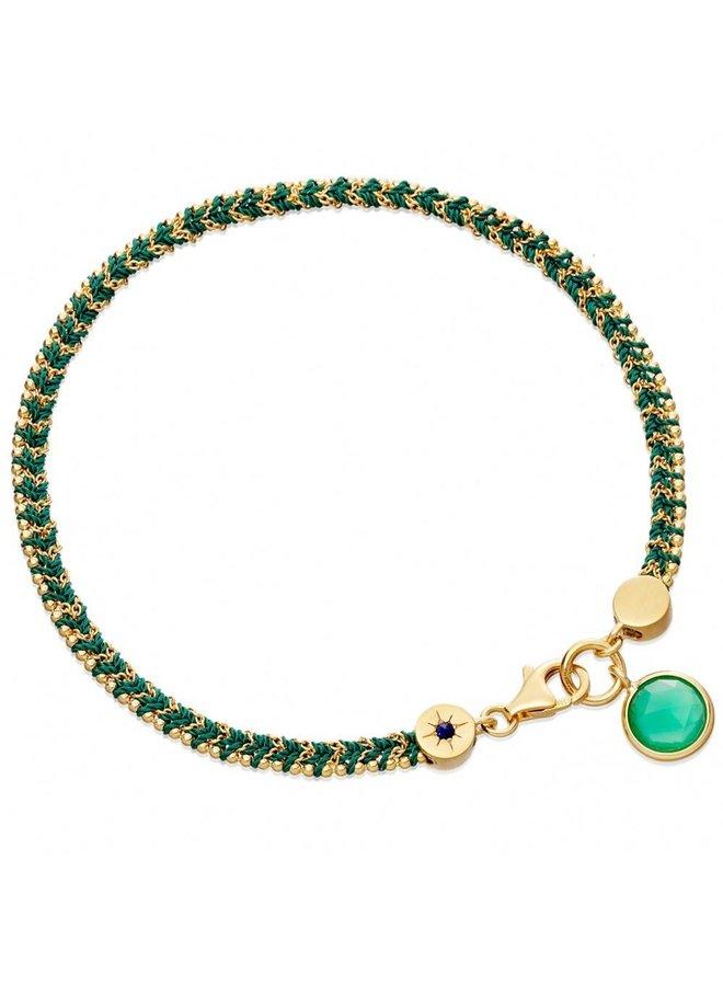 Let's Dance Bracelet With Green Quartz