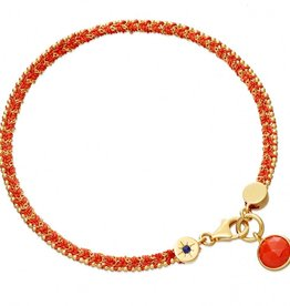 Astley Clarke Rebel Rebel Bracelet With Coral