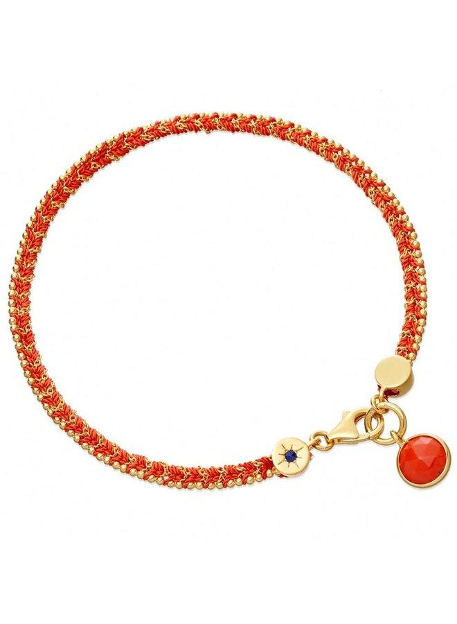 Rebel Rebel Bracelet With Coral