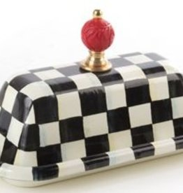 MacKenzie-Childs Courtly Check Butter Box