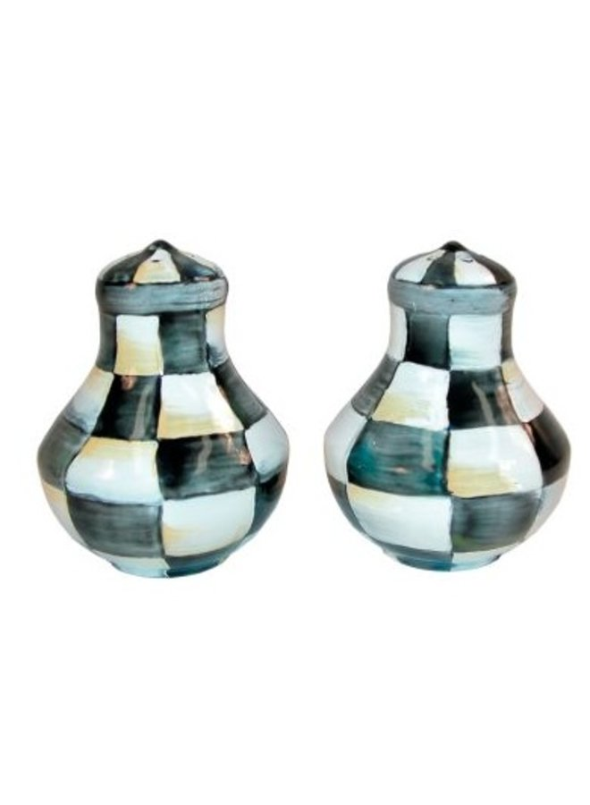 Courtly Check Salt & Pepper Shakers