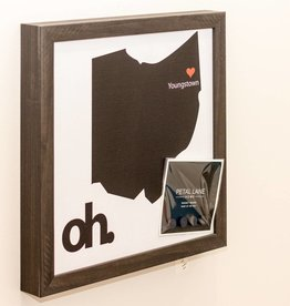 Petal Lane Look Book - State of Ohio Magnet Board- Ebony
