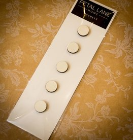 Petal Lane Mini Magnet Set -White
