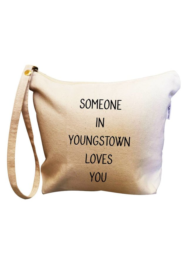 Someone in Youngstown Loves You Makeup Bag