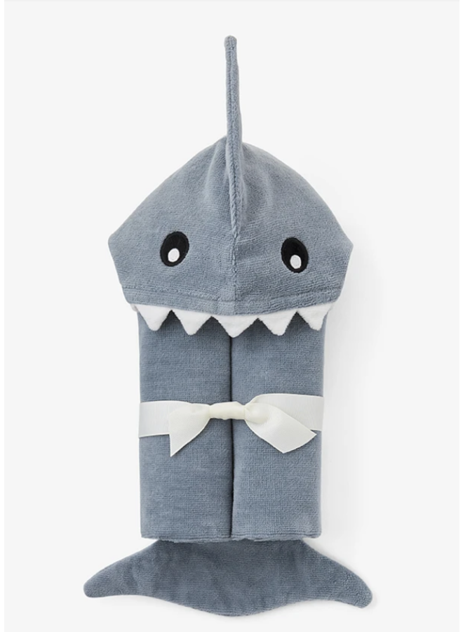 Bath Wrap- Slate Shark