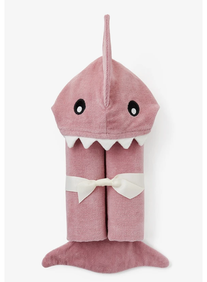 Bath Wrap- Mauve Shark