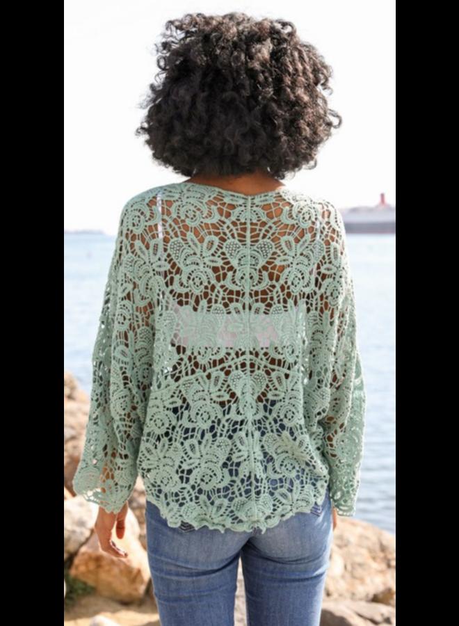 Crochet Floral Petal OS