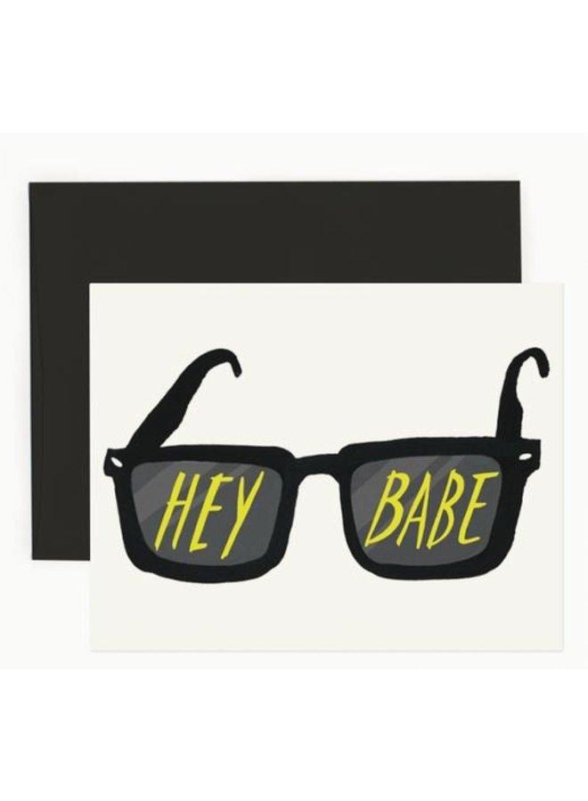 Hey Babe Card