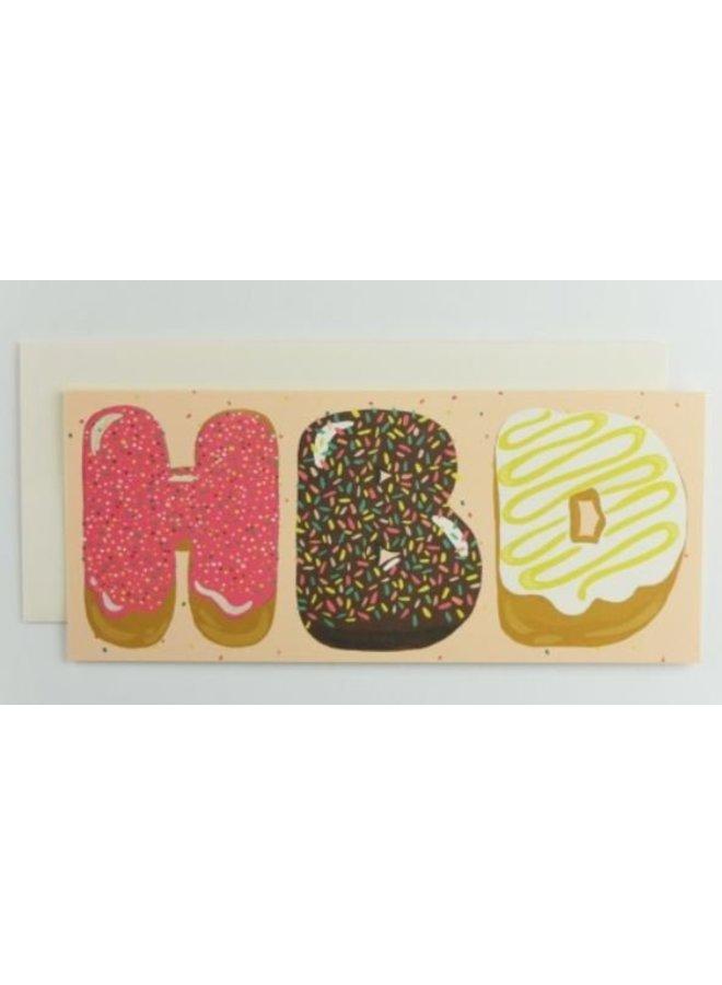 HBD Donuts Card