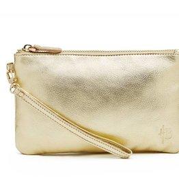 Handbag Butler Gold Shimmer Chargeable Wristlet