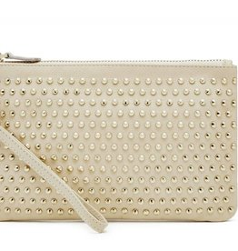 Handbag Butler Cream with Big Studs Chargeable Wristlet