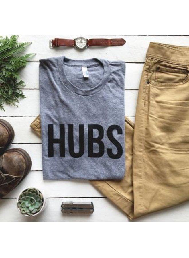 Hubs Crew Neck Tee-XXL