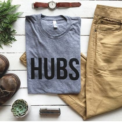 Oyster's Pearl Hubs Crew Neck Tee-XXL