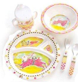 MacKenzie-Childs Bunny Toddler Dinnerware Set
