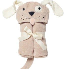 Elegant Baby Bath Wrap Tan Puppy