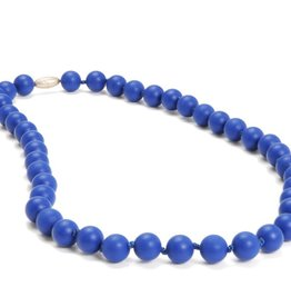 Chewbeads Chewbeads Jane Necklace - Cobalt Blue