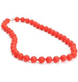 Chewbeads Chewbeads Jane Necklace - Cherry Red