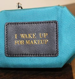 Boulevard Origami Pouch-Teal (Teal with Navy)