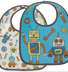 Ore Originals Retro Robot Mini Bib Set