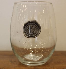 Southern Jubilee Stemless Wine Glass-Initial D