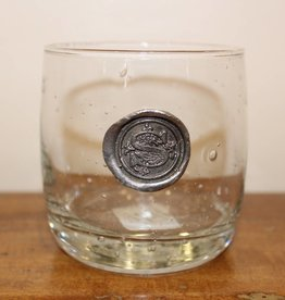Southern Jubilee Double Old Fashion Glass-Initial S