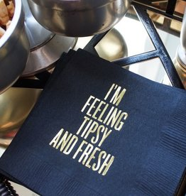 Read Between the Lines I'm Feeling Tipsy And Fresh Cocktail Napkins