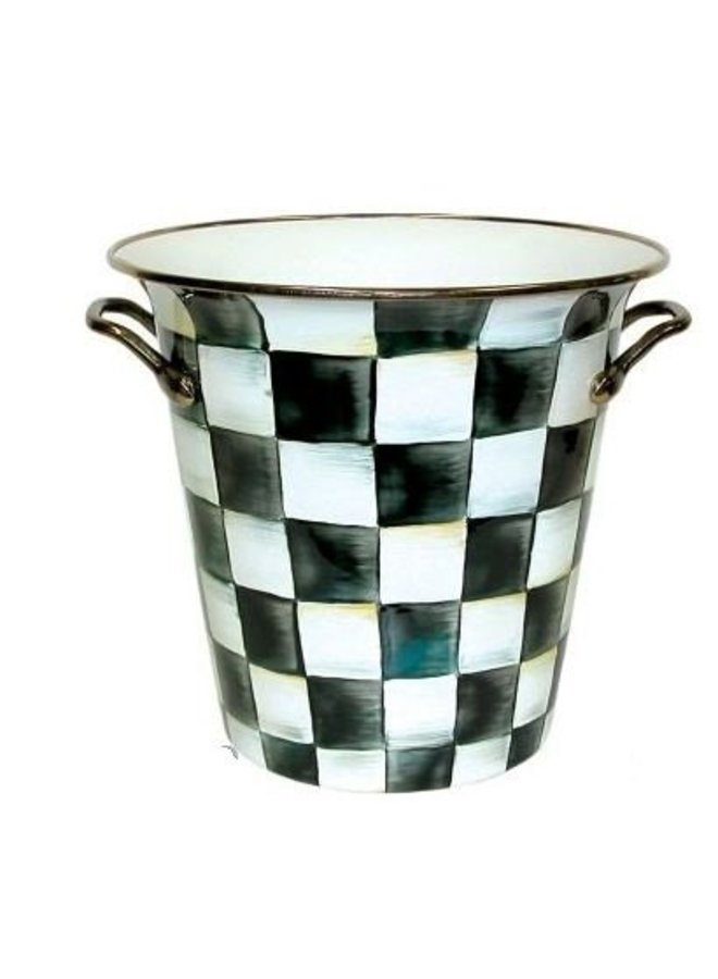 Courtly Check Enamel Wine Cooler