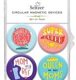 Seltzer Mom Magnets
