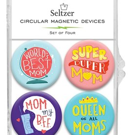 Seltzer Mom Magnets