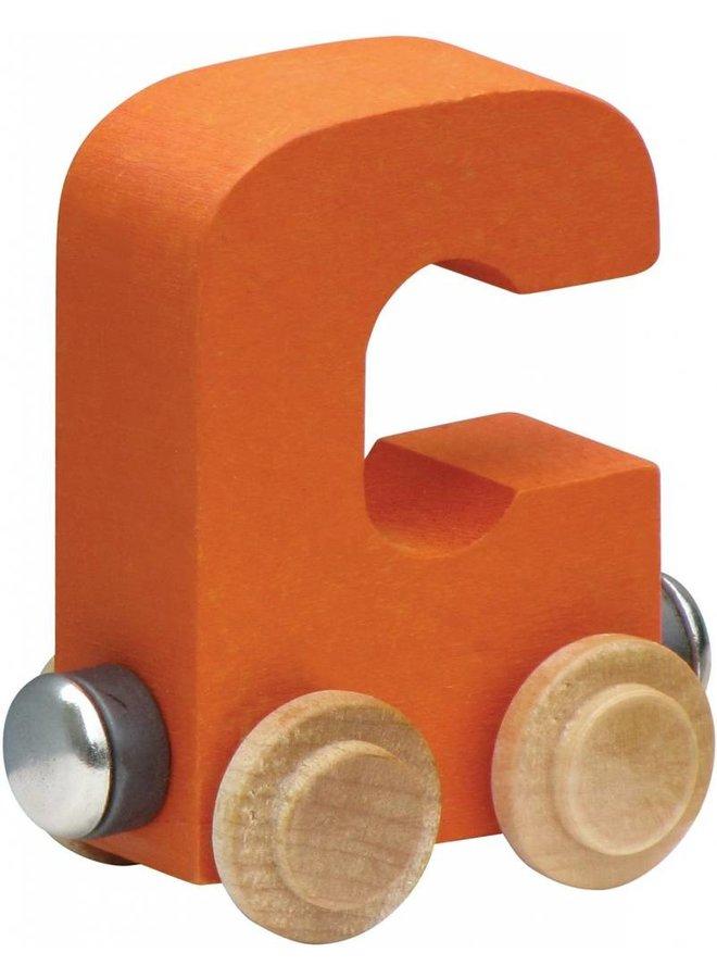 Name Train Bright Letter-C