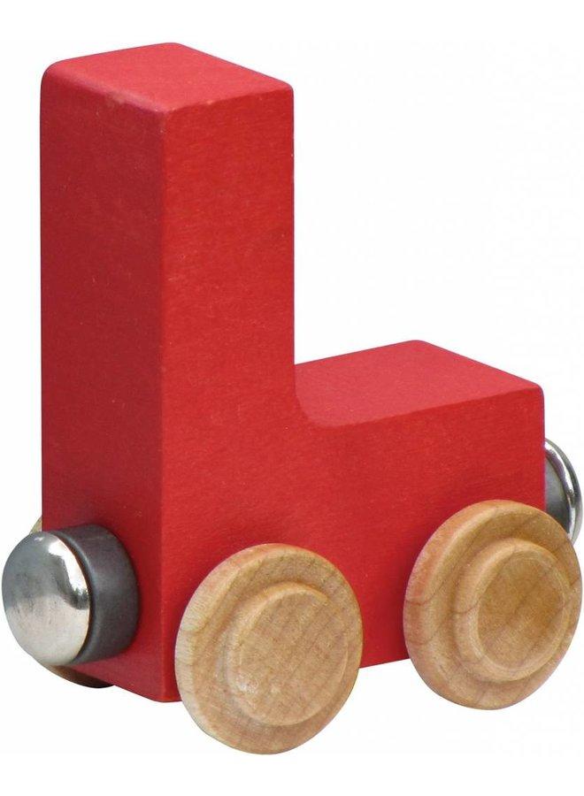 Name Train Bright Letter-L