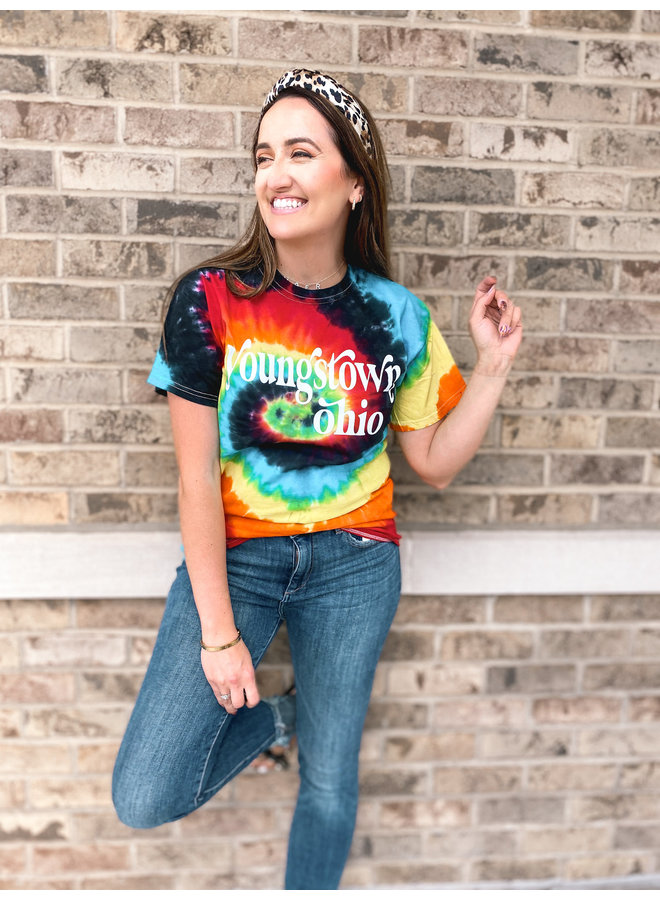 Youngstown Ohio Tie Dye Tee
