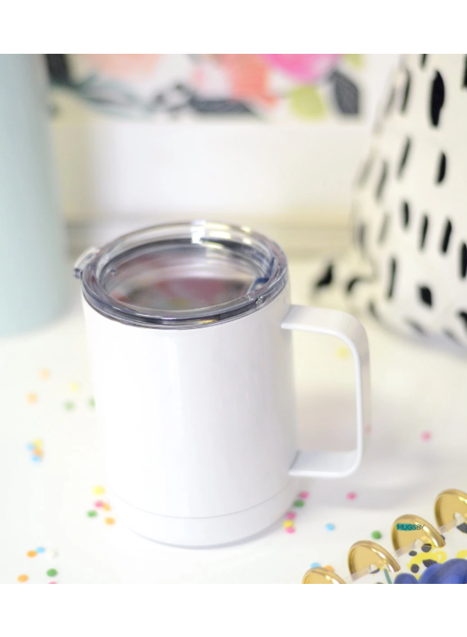 Hard Eye Roll Travel Cup with Handle