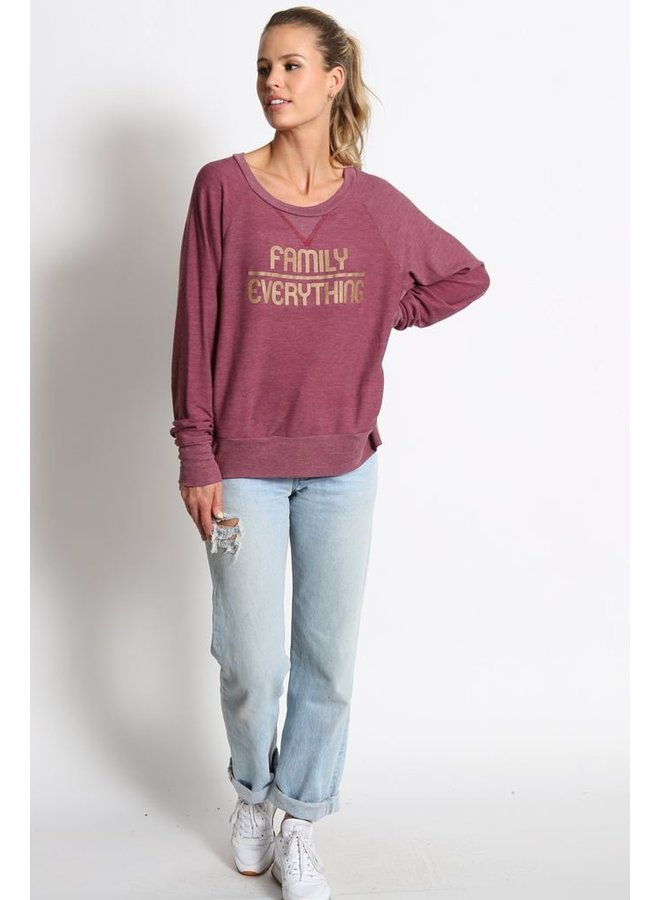 Family Over Everything Pullover