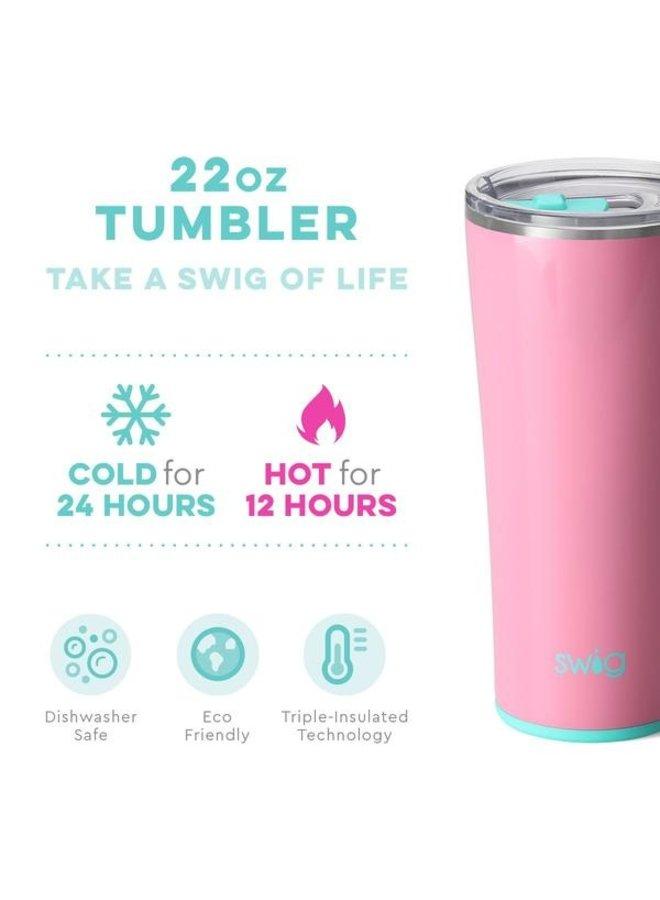 22 oz Tumbler - Peony