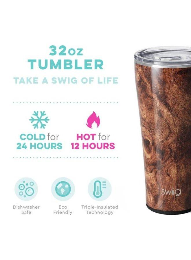 32 oz Tumbler - Black Walnut