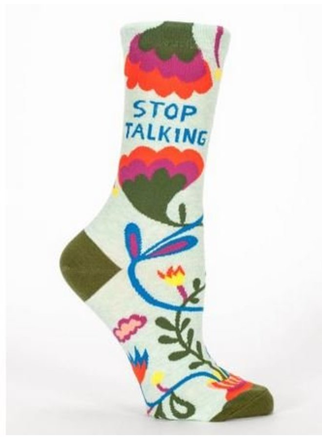 Women's Socks Stop Talking