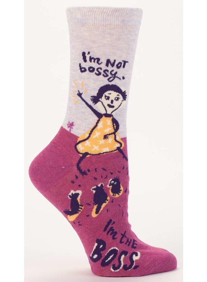 Women's Socks I'm Not Bossy