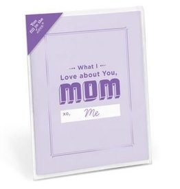 Knock Knock What I Love About Mom Card Booklet