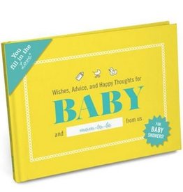 Knock Knock Baby Shower Book