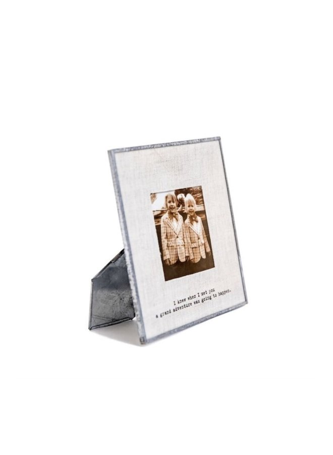 I Knew When I Met You Photo Frame