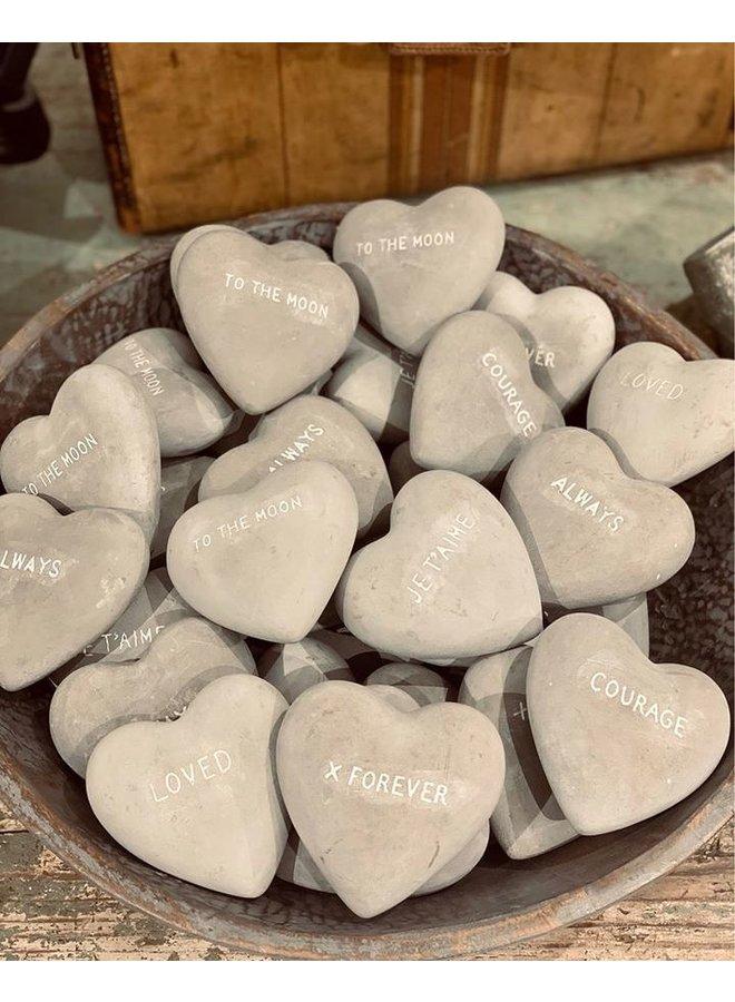 Stone Garden Heart -