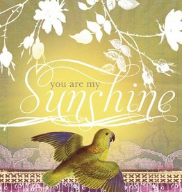 Papaya Sunshine Bird Card