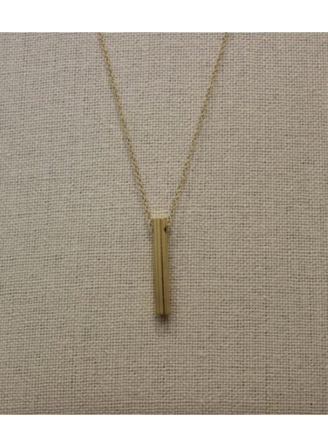 Gold Star Hidden Message Necklace