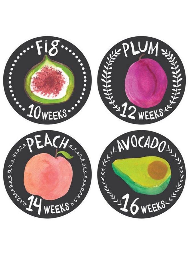 Growing Garden Monthly Stickers