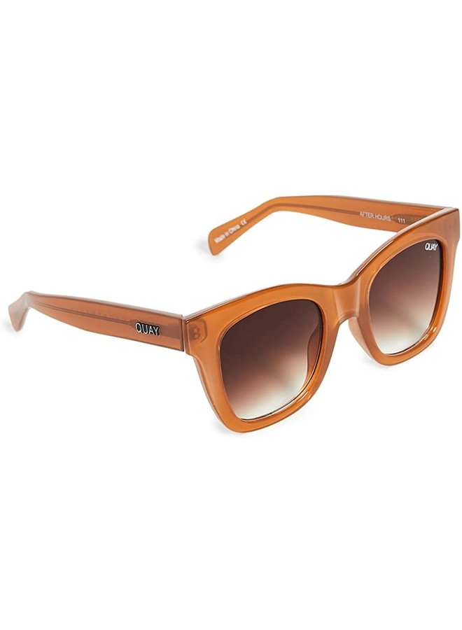 After Hours Sunglasses Toffee/ Brown